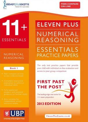 11+ Essentials Numerical Reasoning: Multi Part Questions: Maths Multi Part Worded Problems: Book 1 - ElevenPlusExams