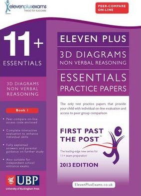 11+ Essentials 3D Non-Verbal Reasoning Practice Papers for CEM: Book 1 - Educational Experts