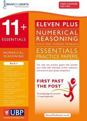 11+ Essentials Numerical Reasoning: Maths Worded Problems: Book 2 - Eleven Plus Exams