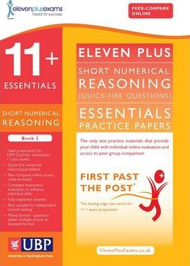 11+ Essentials Short Numerical Reasoning for CEM: Book 2 - Eleven Plus Exams