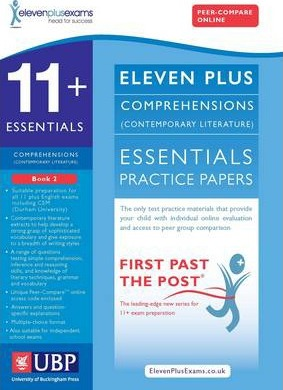 11+ Essentials Comprehensions (Contemporary) for CEM: Book 2 - Eleven Plus Exams