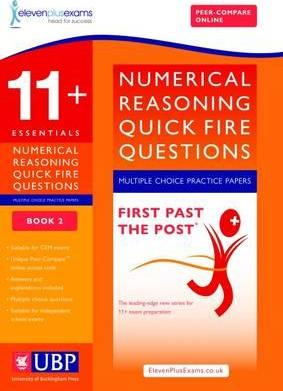 11+ Essentials Short Numerical Reasoning for CEM - Multiple Choice - ElevenPlusExams