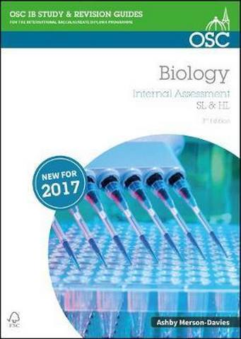 IB Biology Internal Assessment - Ashby Merson-Davies