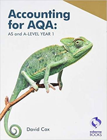 Accounting for AQA : AS and A Level Year 1 -