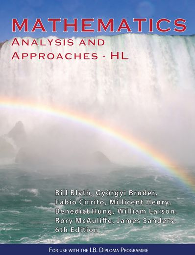 Mathematics: Analysis and Approaches – HL