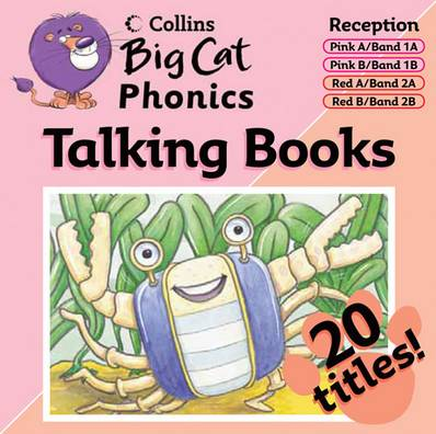 Big Cat Phonics Talking Books: Band 01 Pink - 02 Red - Collins Big Cat - 9780007444380