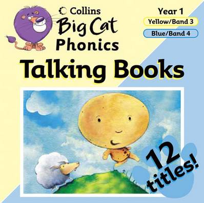 Big Cat Phonics Talking Books: Band 03 Yellow - 04 Blue - Collins Big Cat - 9780007444793