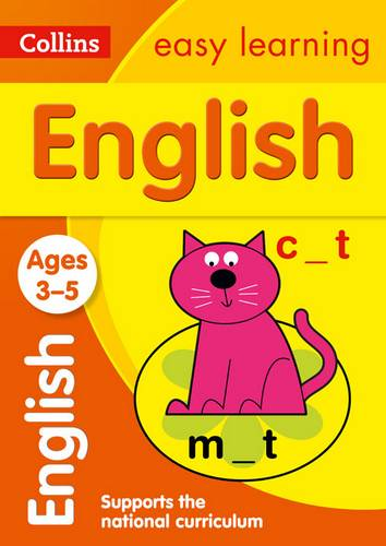 English Ages 4-5: New Edition (Collins Easy Learning Preschool) - Collins Easy Learning - 9780008134204