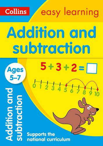 Addition and Subtraction Ages 5-7: New Edition (Collins Easy Learning KS1) - Collins Easy Learning - 9780008134280