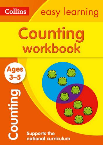 Counting Workbook Ages 3-5: New Edition (Collins Easy Learning Preschool) - Collins Easy Learning - 9780008152284