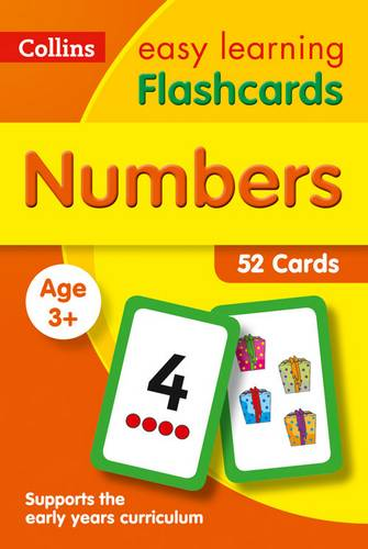Numbers Flashcards (Collins Easy Learning Preschool) - Collins Easy Learning - 9780008201067