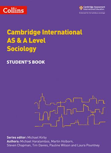 Collins Cambridge AS & A Level - Cambridge International AS & A Level Sociology Student's Book - Michael Haralambos - 9780008287627