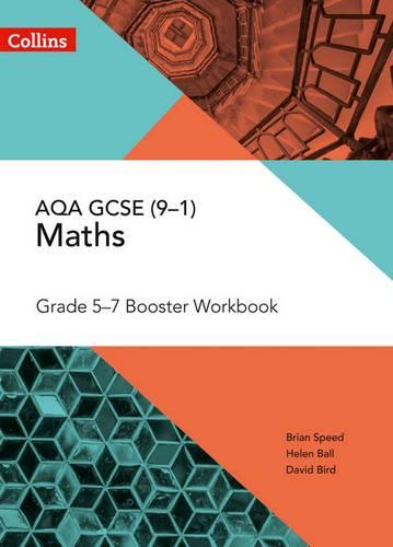 AQA GCSE Maths Grade 5-7 Workbook (Collins GCSE Maths) - Brian Speed - 9780008322519