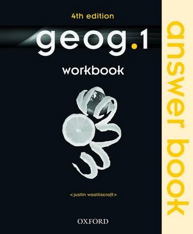 geog.1: Workbook Answer Book - Justin Woolliscroft - 9780198356912