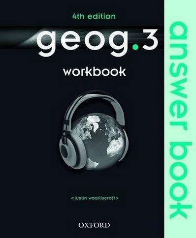 geog.3: Workbook Answer Book - Justin Woolliscroft - 9780198356936