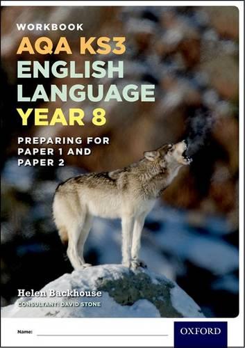 AQA KS3 English Language: Key Stage 3: Year 8 test workbook -  - 9780198368830