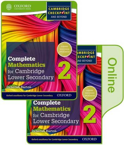 Complete Mathematics for Cambridge Lower Secondary Book 2: Online Student Book - Deborah Barton - 9780198379652