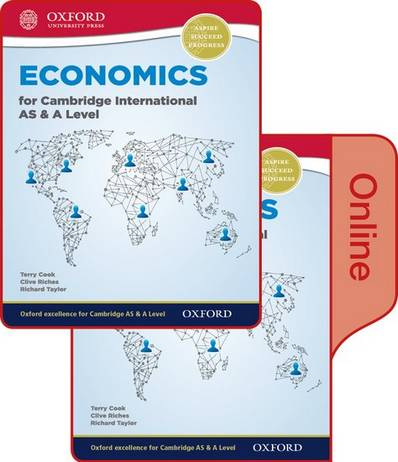 Economics for Cambridge International AS and A Level Print & Online Student Book - Terry Cook - 9780198417835
