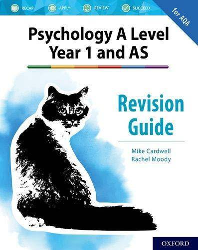 The Complete Companions for AQA Psychology: AS and A Level: The Complete Companions: A Level Year 1 and AS Psychology Revision Guide for AQA - Mike Cardwell - 9780198444893