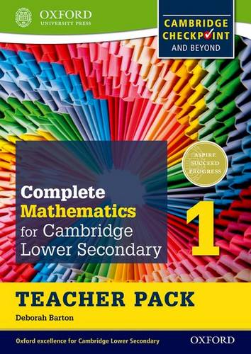 Complete Mathematics for Cambridge Lower Secondary Teacher Pack 1: For Cambridge Checkpoint and Beyond - Deborah Barton - 9780199137053