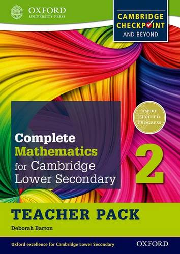 Complete Mathematics for Cambridge Lower Secondary Teacher Pack 2: For Cambridge Checkpoint and beyond - Deborah Barton - 9780199137084