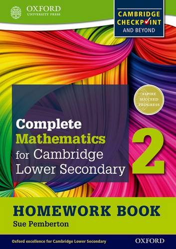 Complete Mathematics for Cambridge Lower Secondary Homework Book 2 (Pack of 15): For Cambridge Checkpoint and beyond - Sue Pemberton - 9780199137091