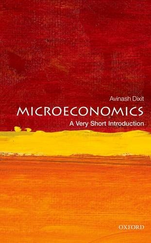 Microeconomics: A Very Short Introduction - Avinash K. Dixit - 9780199689378