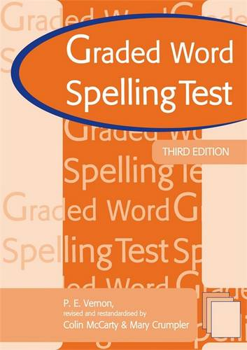 Graded Word Spelling Test 3rd edn - Colin McCarty - 9780340913291