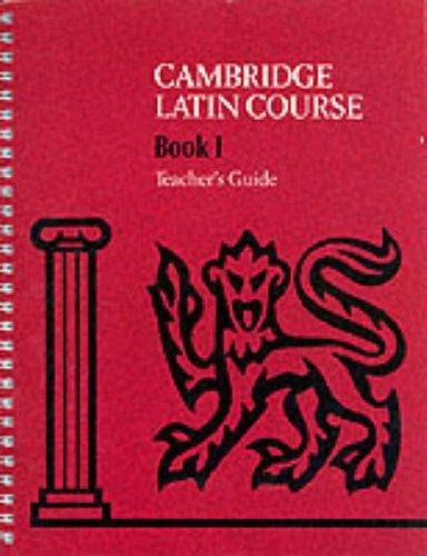 Cambridge Latin Course: Cambridge Latin Course 1 Teacher's Guide - Cambridge School Classics Project - 9780521648592
