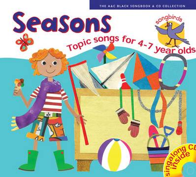 Songbirds - Songbirds: Seasons (Book + CD): Songs for 4-7 year olds - Ana Sanderson - 9780713648010
