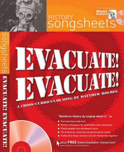 Songsheets - Evacuate