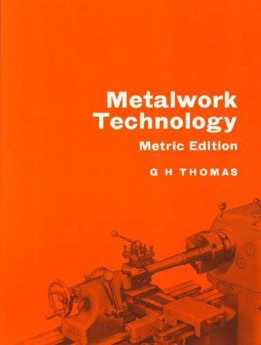 Metalwork Technology - Gilbert Howard Thomas - 9780719526541