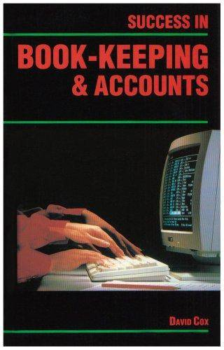 Success in Book-keeping and Accounts - David Cox - 9780719541940
