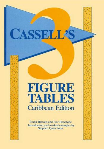 Cassell's - 3 Figure Tables Caribbean Edition - L. Quansoon - 9780748765737