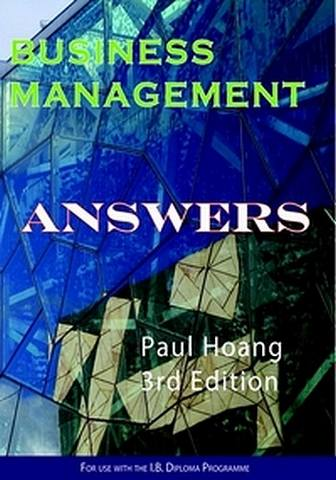 Business Management Answer Book for 3rd Edition - Paul Hoang - 9780992522483