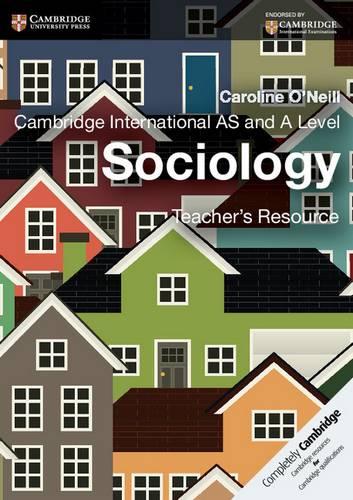 Cambridge International AS and A Level Sociology Teacher's Resource CD-ROM - Caroline O'Neill - 9781107414600