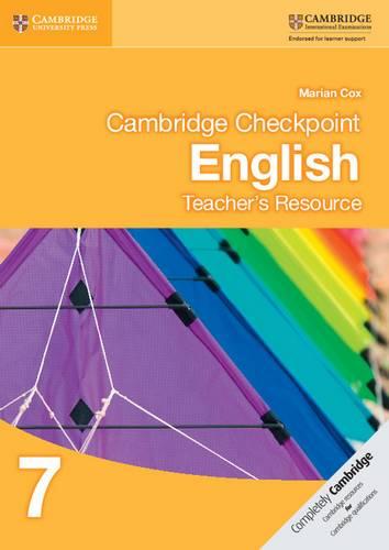 Cambridge Checkpoint English Teacher's Resource 7 - Marian Cox - 9781107607248