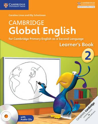 Cambridge Global English: Cambridge Global English Stage 2 Learner's Book with Audio CDs (2) - Caroline Linse - 9781107613805