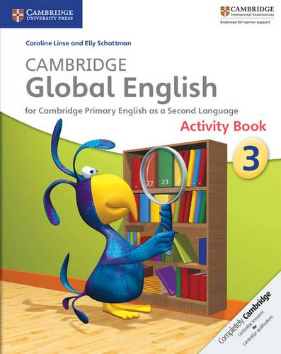 Cambridge Global English: Cambridge Global English Stage 3 Activity Book - Caroline Linse - 9781107613836