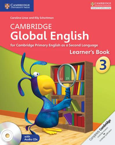 Cambridge Global English: Cambridge Global English Stage 3 Learner's Book with Audio CDs (2) - Caroline Linse - 9781107613843