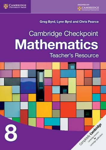 Cambridge Checkpoint Mathematics Teacher's Resource 8 - Greg Byrd - 9781107622456