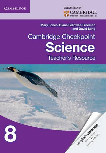 Cambridge Checkpoint Science Teacher's Resource 8 - Mary Jones - 9781107625051
