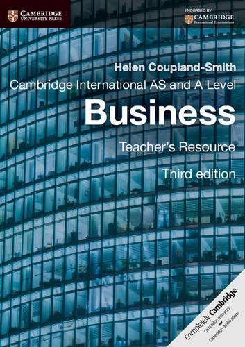 Cambridge International AS and A Level Business Teacher's Resource CD-ROM - Helen Coupland-Smith - 9781107642614