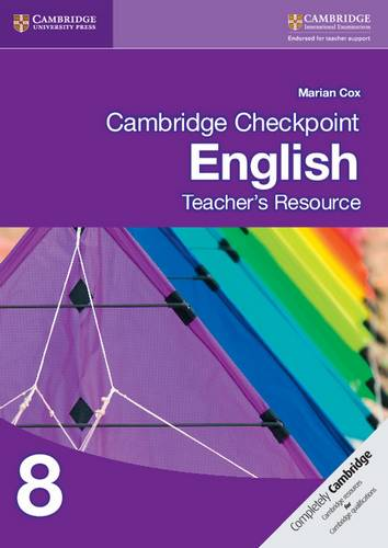Cambridge Checkpoint English Teacher's Resource 8 - Marian Cox - 9781107651227