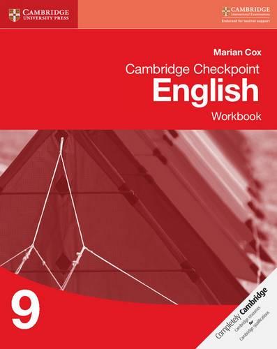 Cambridge Checkpoint English Workbook 9 - Marian Cox - 9781107657304