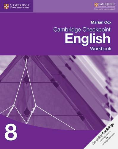 Cambridge Checkpoint English Workbook 8 - Marian Cox - 9781107663152