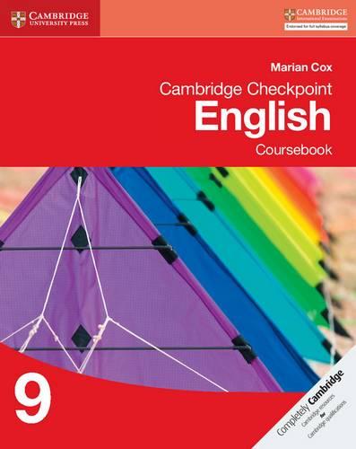 Cambridge Checkpoint English Coursebook 9 - Marian Cox - 9781107667488