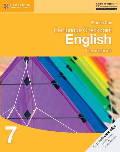Cambridge Checkpoint English Coursebook 7 - Marian Cox - 9781107670235