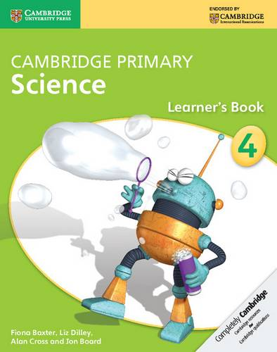 Cambridge Primary Science: Cambridge Primary Science Stage 4 Learner's Book - Fiona Baxter - 9781107674509