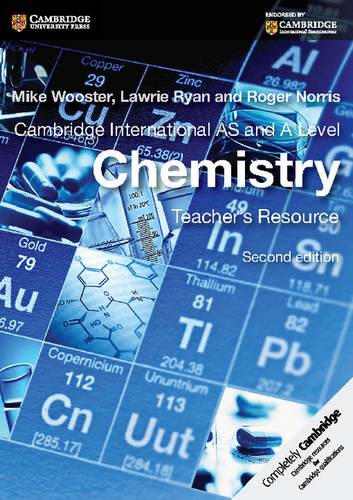 Cambridge International AS and A Level Chemistry Teacher's Resource CD-ROM - Mike Wooster - 9781107677708